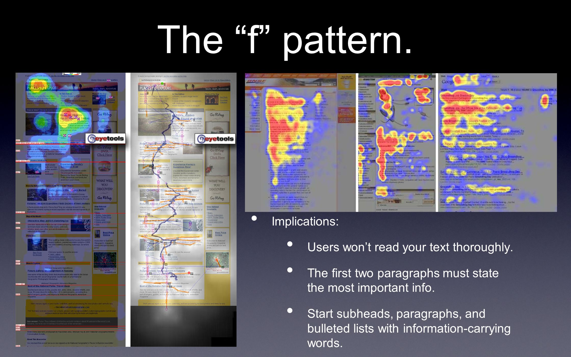 Text vs.Images vs.