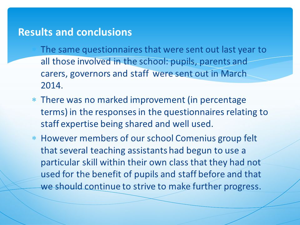 We are collecting photographic evidence of the use of staff expertise within school.