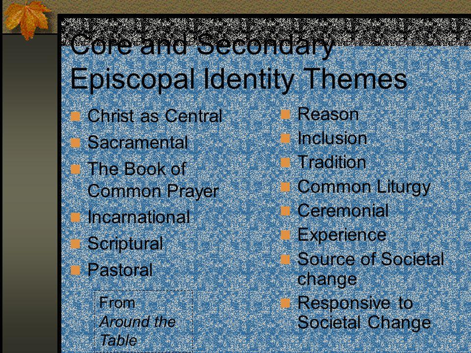 Identity Episcopal Identity & Episcopal Social Ministries