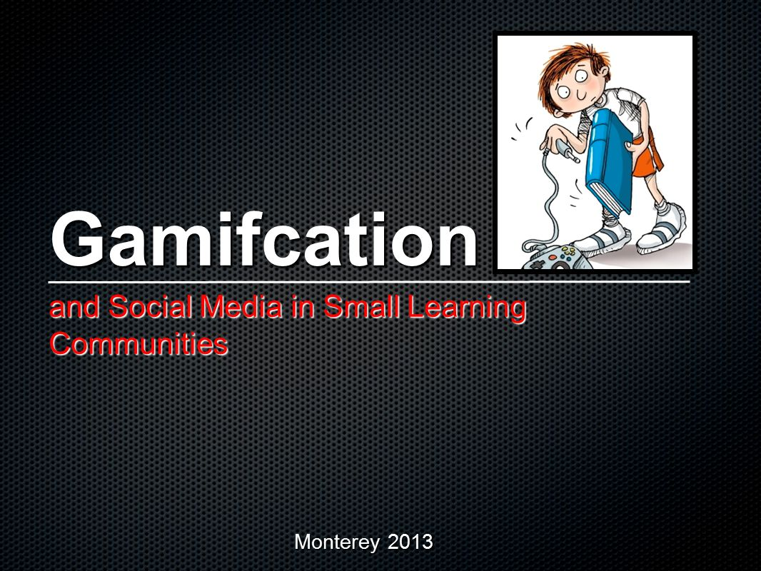 How is it working? Student Survey Results Gamification and Social Media in the Classroom