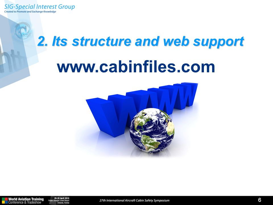 2. Its structure and web support 6 www.cabinfiles.com
