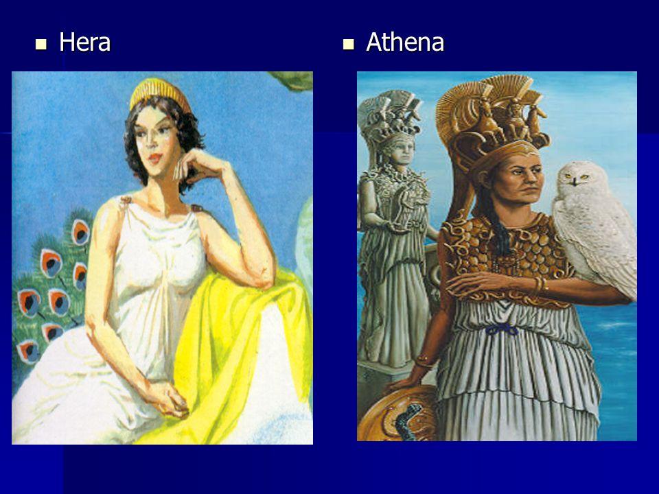 Hera Hera Athena Athena