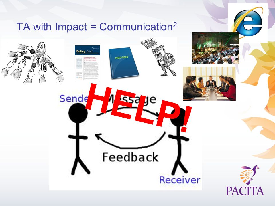 TA with Impact = Communication 2 HELP!