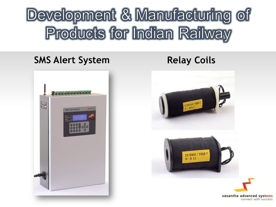 SMS Alert System Relay Coils