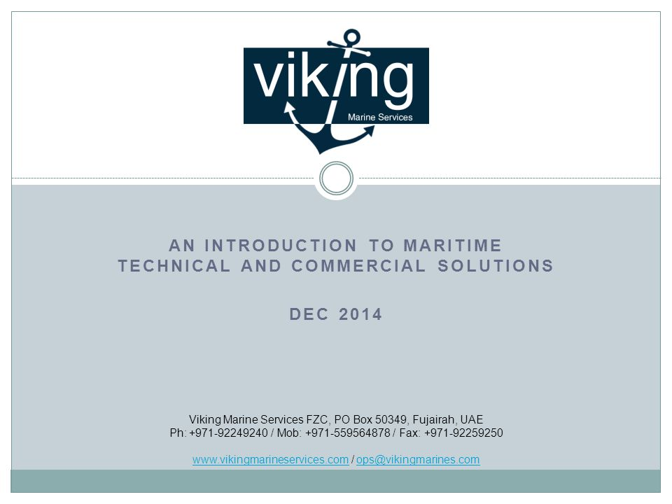 Contents About us Why use Viking.