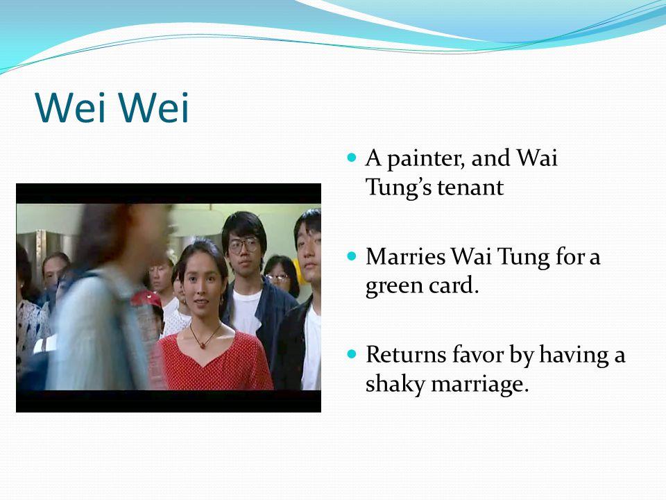 Main Characters of Saving Face Michelle Krusiec as Will Pang Lynn Chen as Vivian Shing Joan Chen as Ma