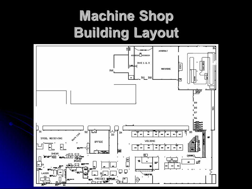 Machine Shop Building Layout