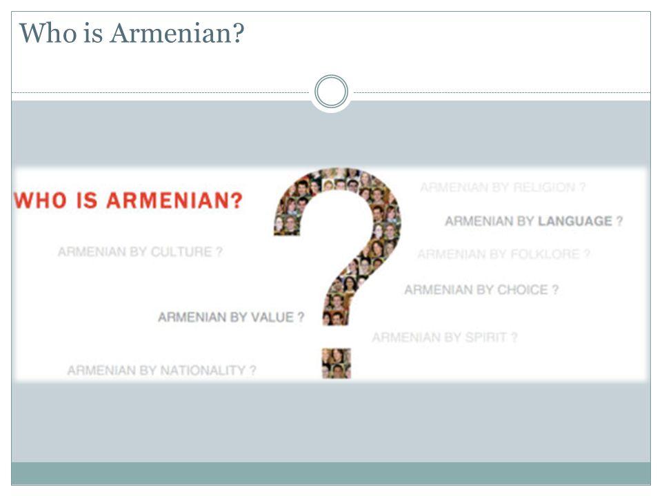 Who is Armenian
