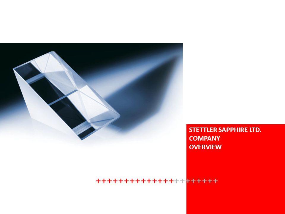 STETTLER SAPPHIRE LTD. COMPANY OVERVIEW ++++++++++++++++++++++