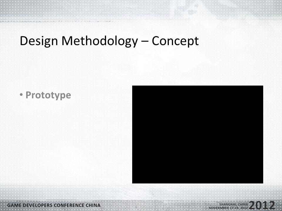 Design Methodology – Concept Prototype