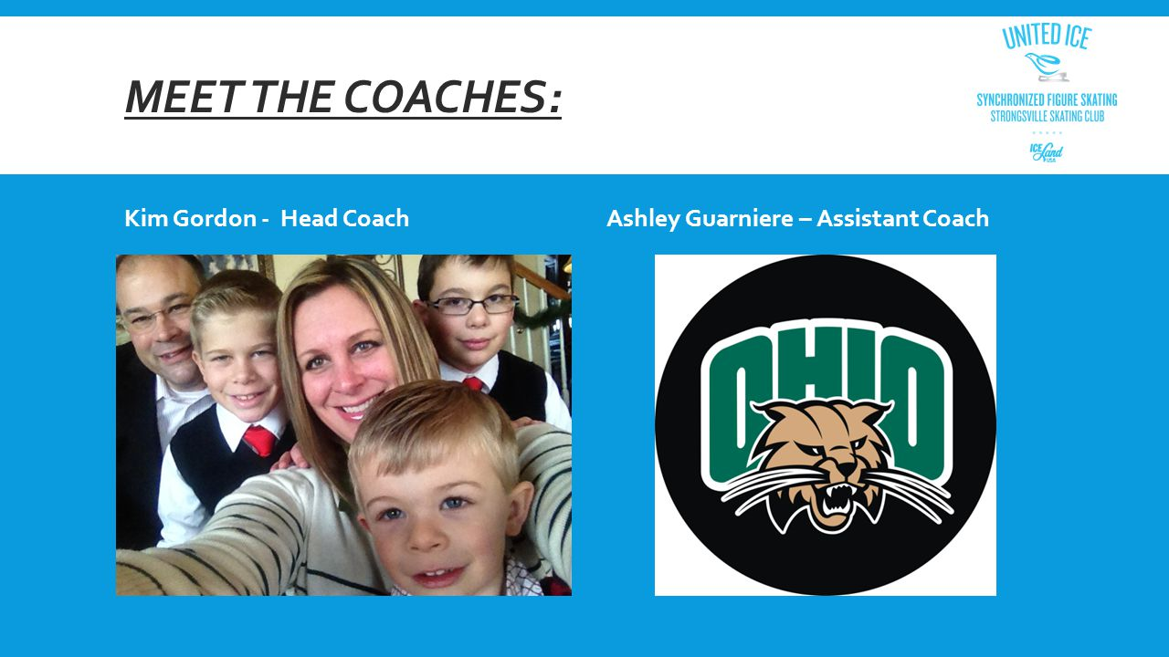 MEET THE COACHES: Kim Gordon - Head CoachAshley Guarniere – Assistant Coach