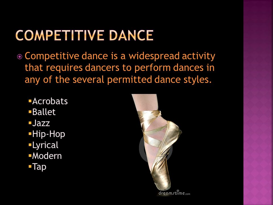  Judges, who are usually former professional dancers or instructors, score each performance in many categories.