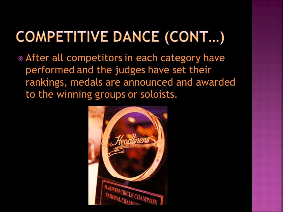 This perspective views society as a constant struggle for power and resources Social Situation  Dance Competition Ultimate Goal  To win platinum in all categories you compete in Power Resources  Technique  Practice Time  Confidence  Instructor  Team Work
