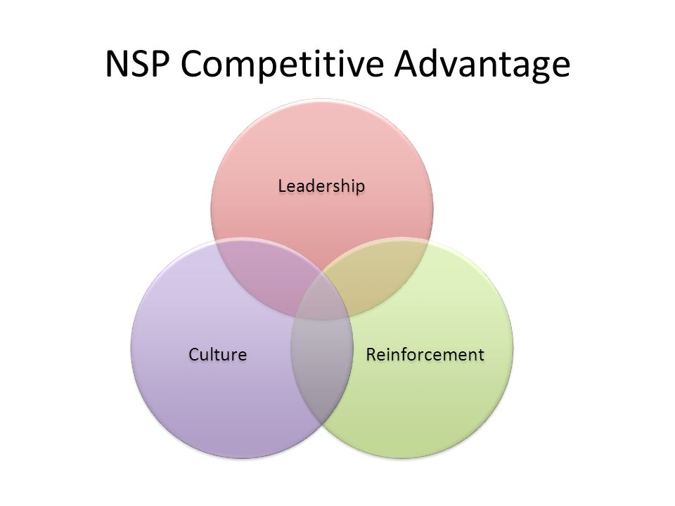 NSP Competitive Advantage Leadership ReinforcementCulture