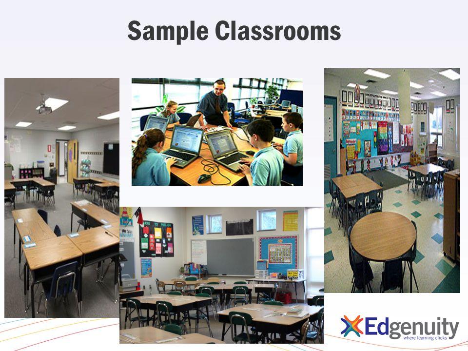 Sample Classrooms