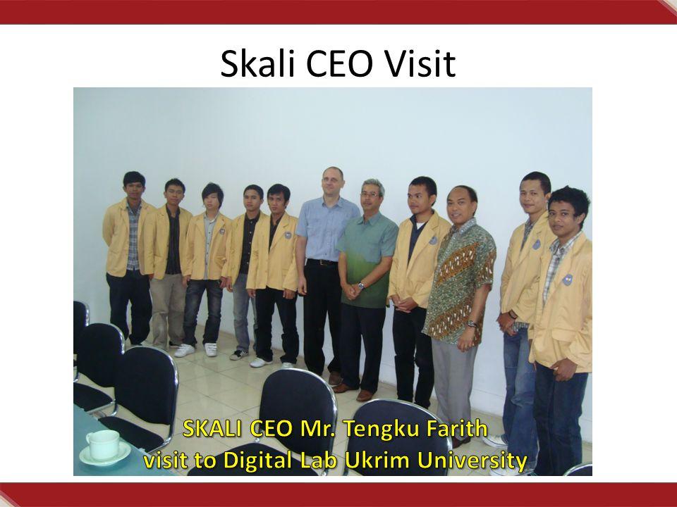 Skali CEO Visit