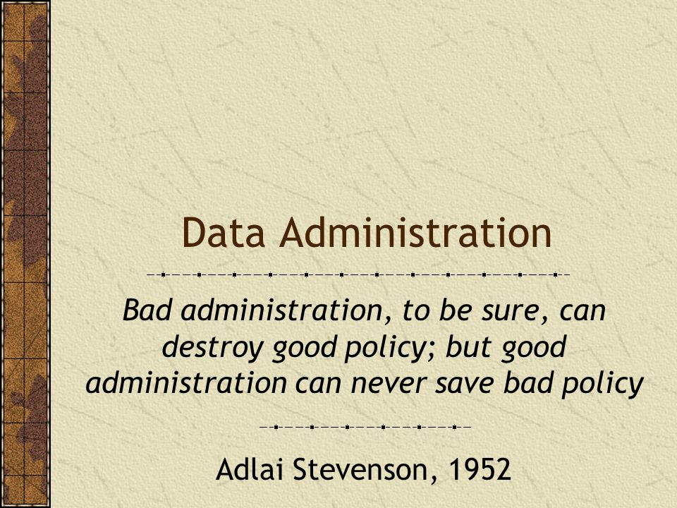 Database development cycle