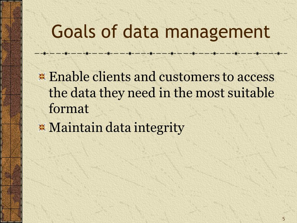 36 Use of the data dictionary Documentation support Data maps Design aid Schema generation Change control