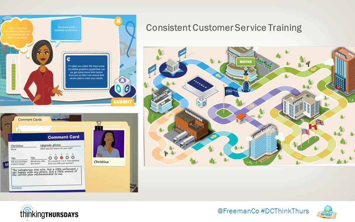 Consistent Customer Service Training