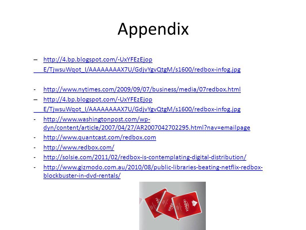 Appendix – http://4.bp.blogspot.com/-UxYFEzEjop http://4.bp.blogspot.com/-UxYFEzEjop E/TjwsuWqot_I/AAAAAAAAX7U/GdjvYgvQtgM/s1600/redbox-infog.jpg -htt
