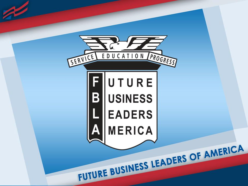 FBLA CREED I believe every person has the right to earn a living at a useful occupation.