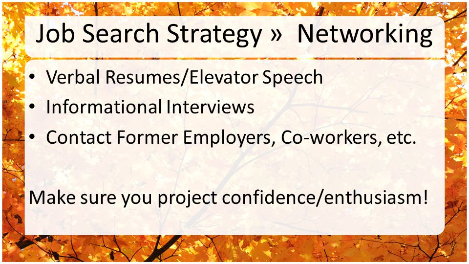 Job Search Strategy » Change Career Is Your Current or Past Career TOO Demanding.