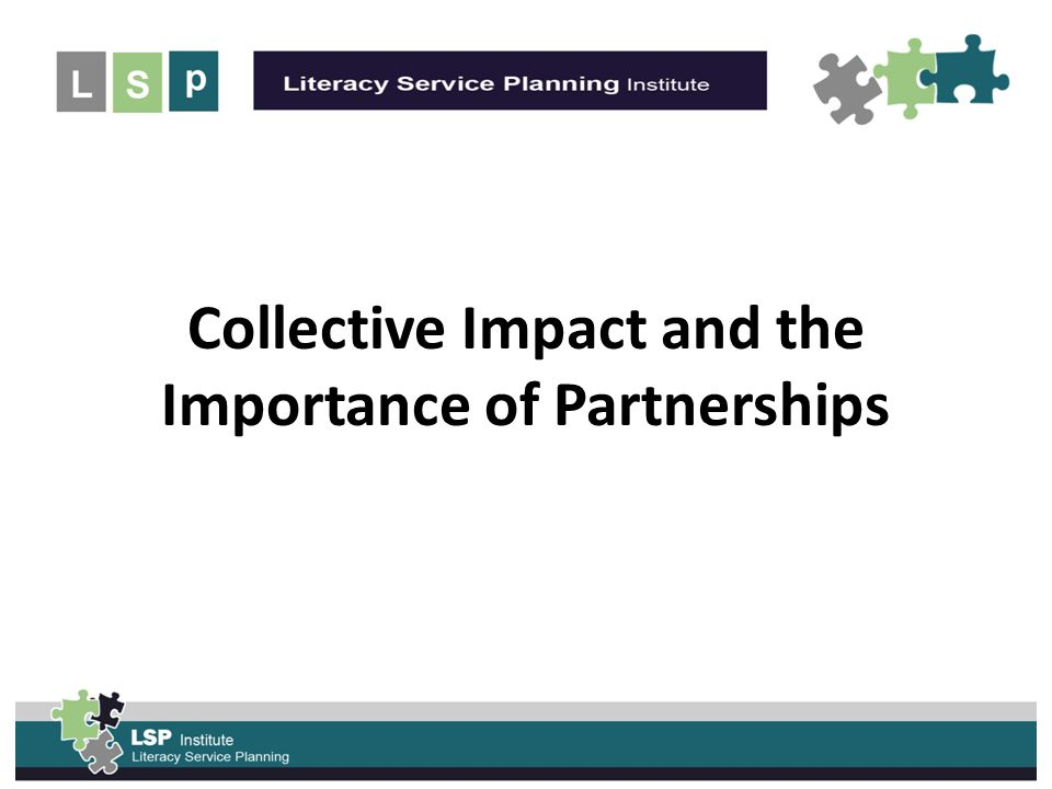 UNLEASH the POWER of the Collective Impact and the Importance of Partnerships