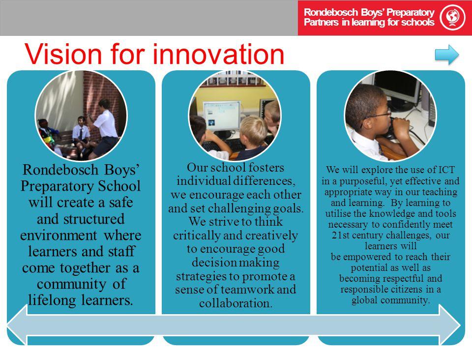 Vision Showcase| May, 2012 Rondebosch Boys' Preparatory School, South Africa Warren Sparrow
