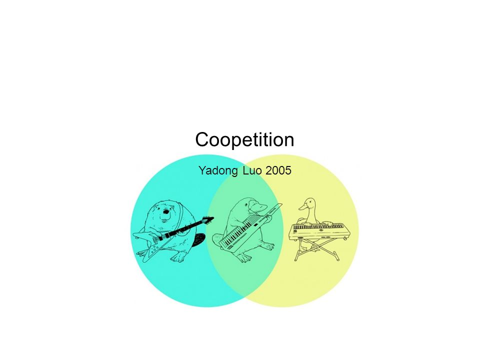 Coopetition Yadong Luo 2005