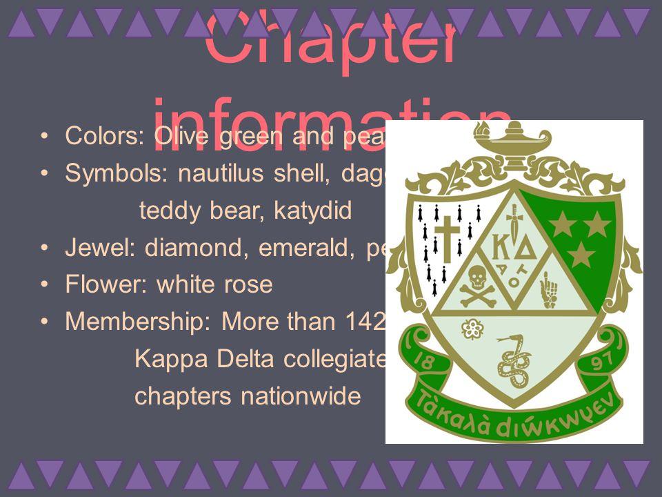 Scholarship At Kappa Delta we value every member's education.