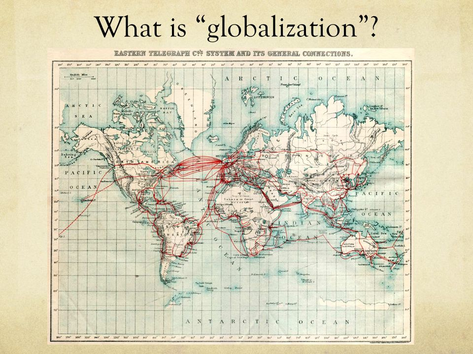 What is globalization ?
