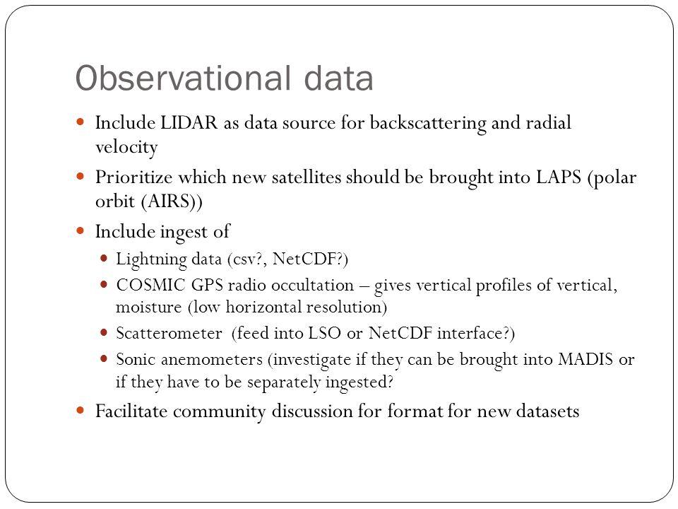 Bottlenecks (optimization and parallelization) Optimize or replace Gridgen (Perhaps replace gridgen model with WPS-geogrid.