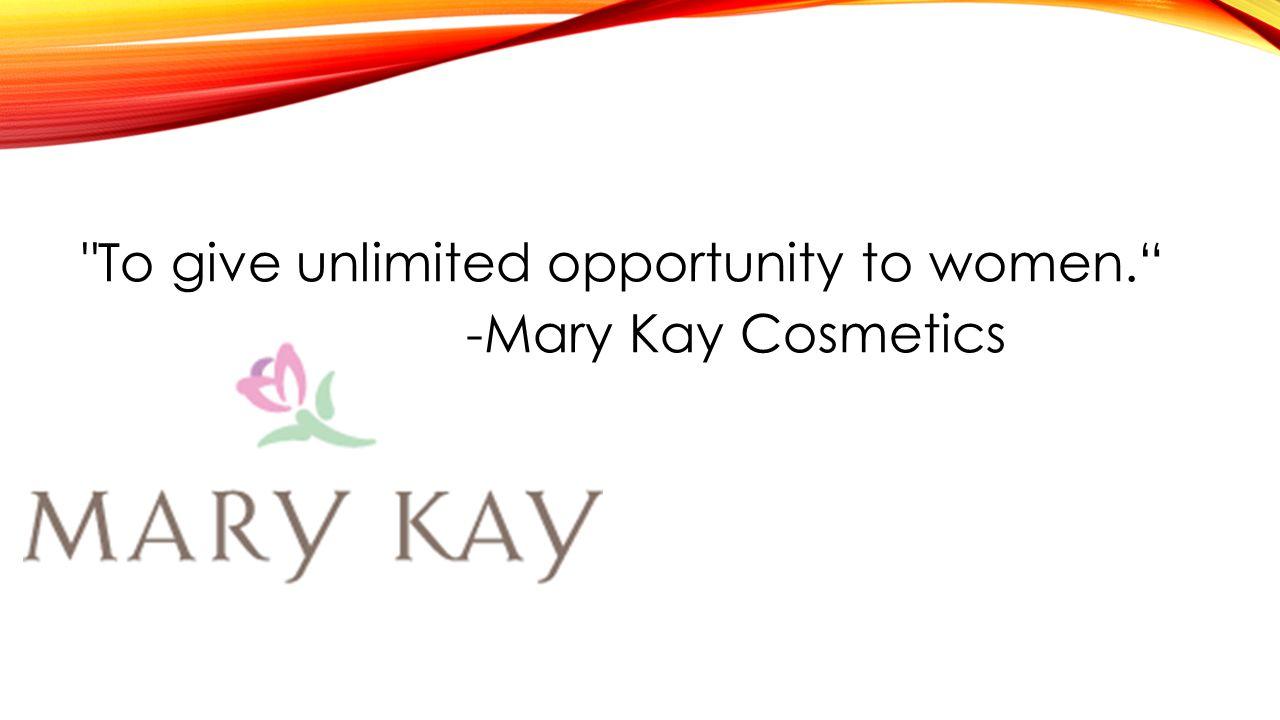 -Mary Kay Cosmetics