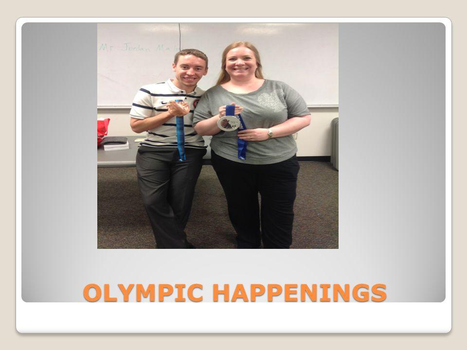 OLYMPIC HAPPENINGS