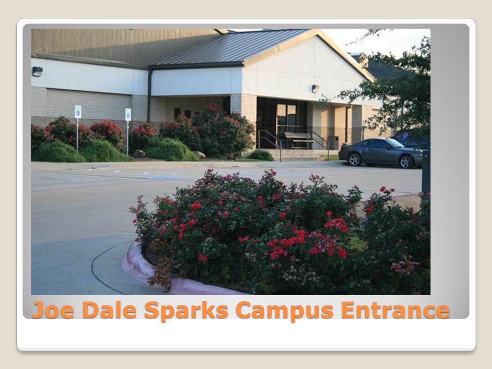 Joe Dale Sparks Campus Entrance