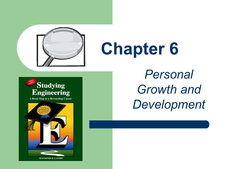 Chapter 6 Personal Growth and Development