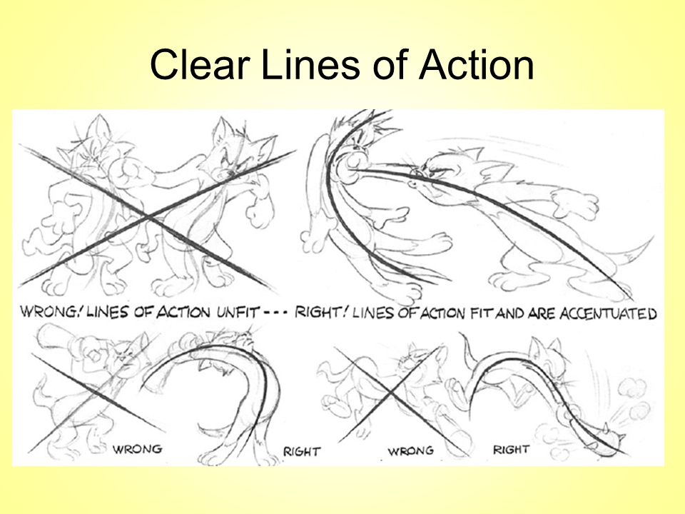 Clear Lines of Action