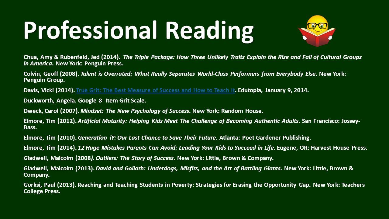 Professional Reading Chua, Amy & Rubenfeld, Jed Chua, Amy & Rubenfeld, Jed (2014).