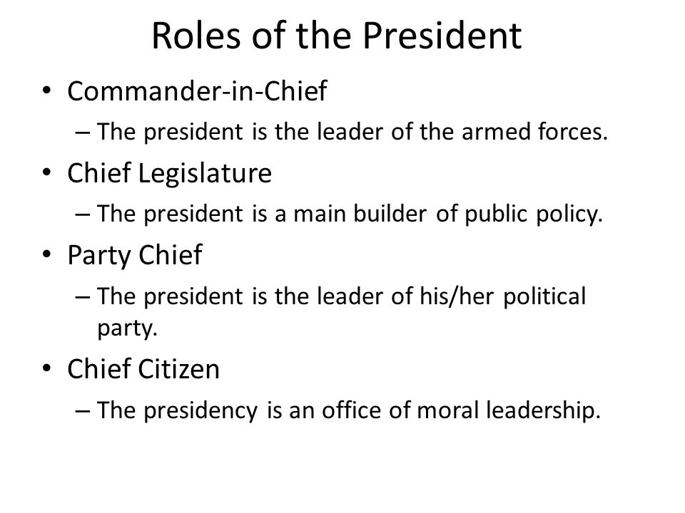 Worksheets Roles Of The President Worksheet presidential trivia how many men have served as president 43 roles of the commander in chief is leader of