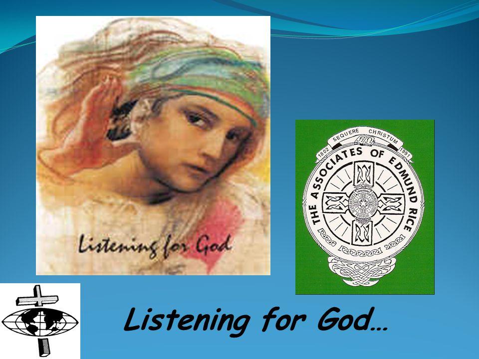 Listening for God…