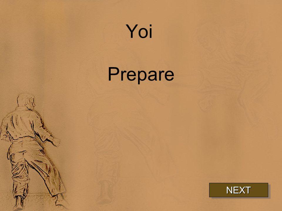 Yoi Prepare NEXT