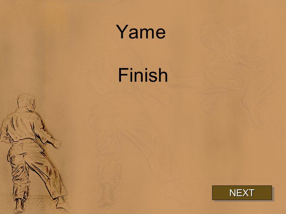 Yame Finish NEXT