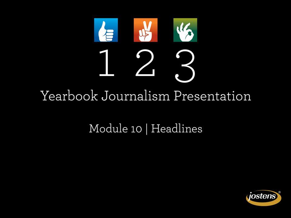 Graphic details create dynamic headline presentations.