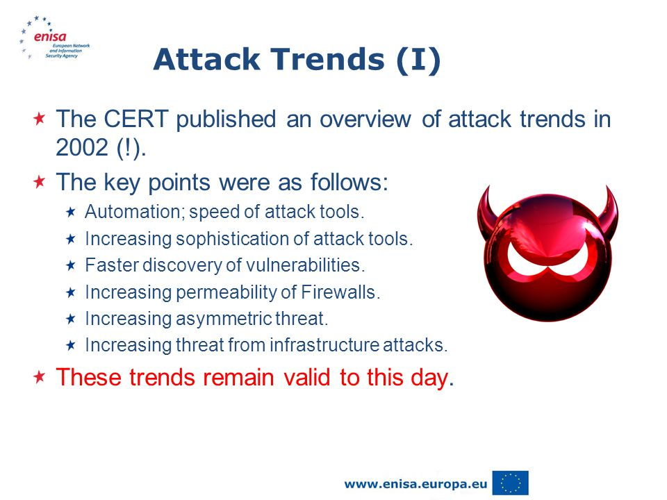 Attack Trends (II) But there are some new trends…..