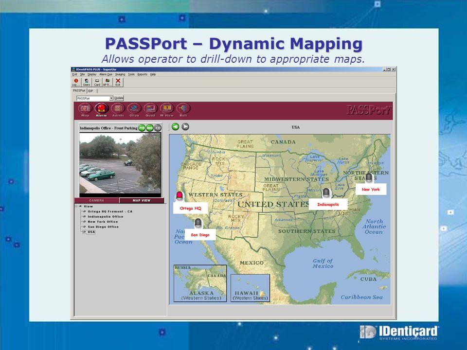 PASSPort Features Comparison