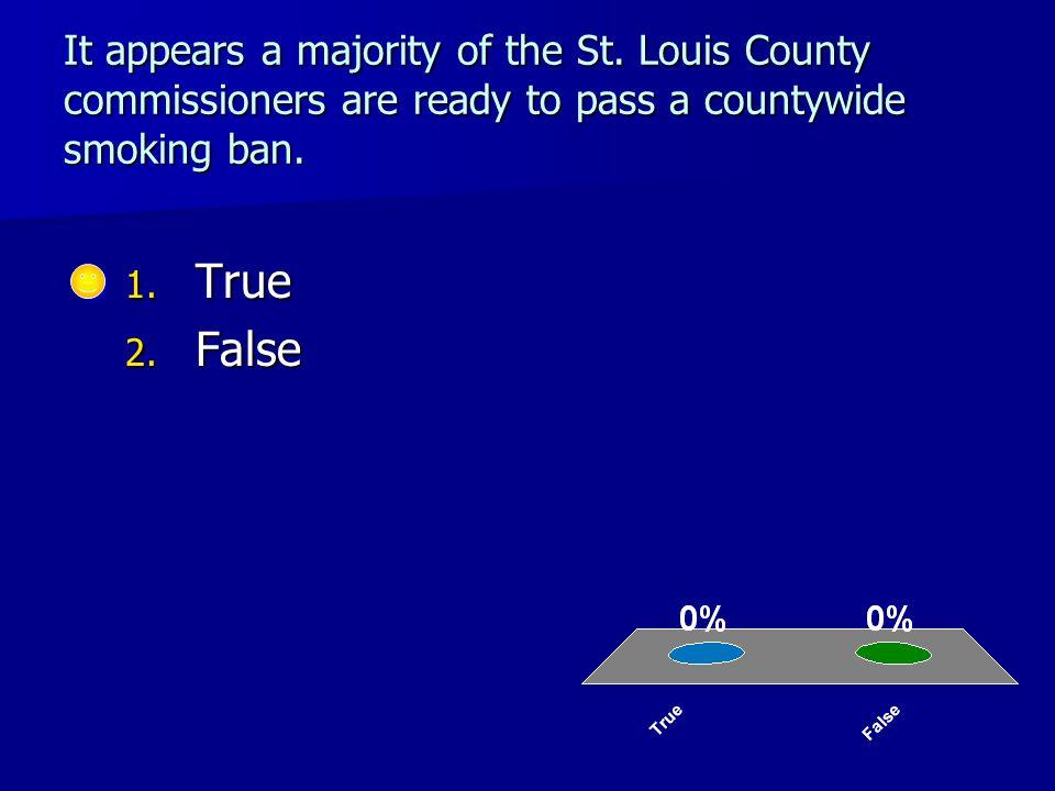It appears a majority of the St.