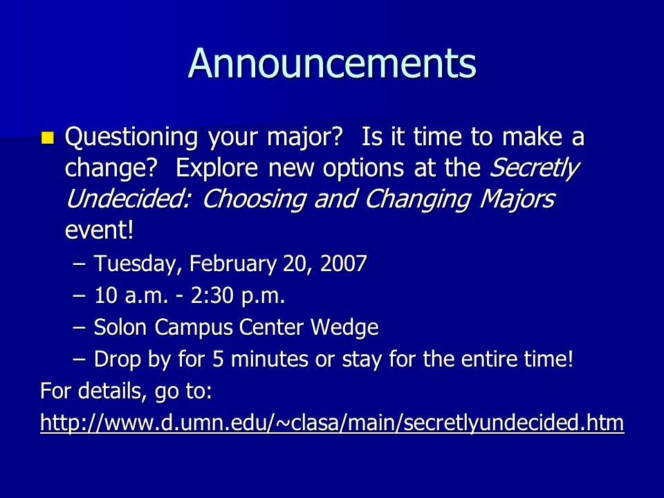 Extra Credit: WDIO tour WDIO-TV Tour: WDIO-TV Tour: –Wednesday, 3/7: 4:30 p.m.