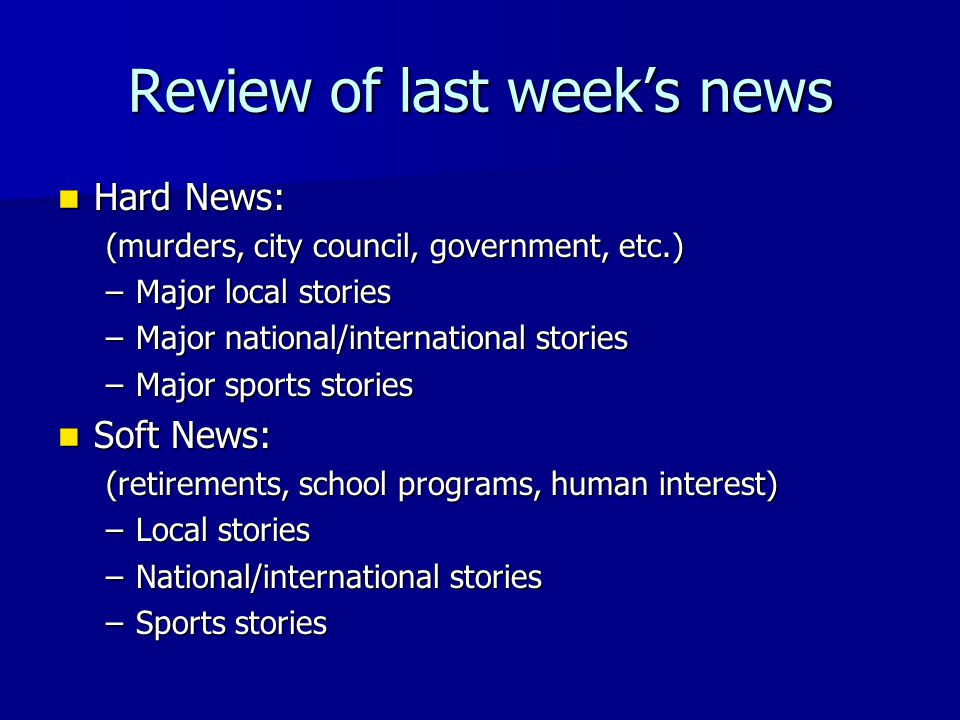 Covering September 11 First bulletins First bulletins –Radio, TV, Internet When did you learn the news.