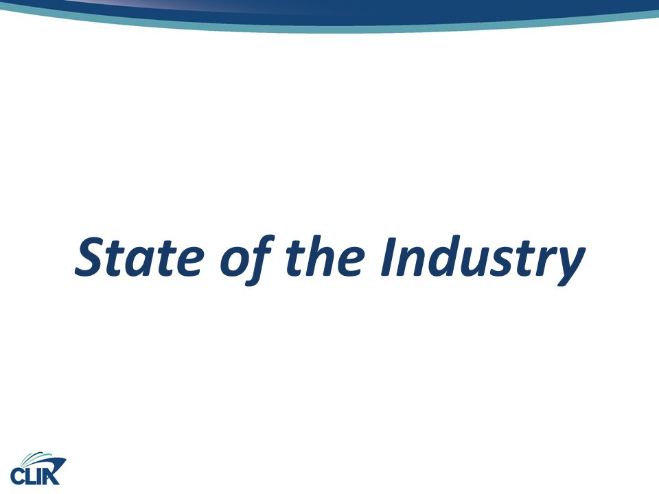 State of the Industry