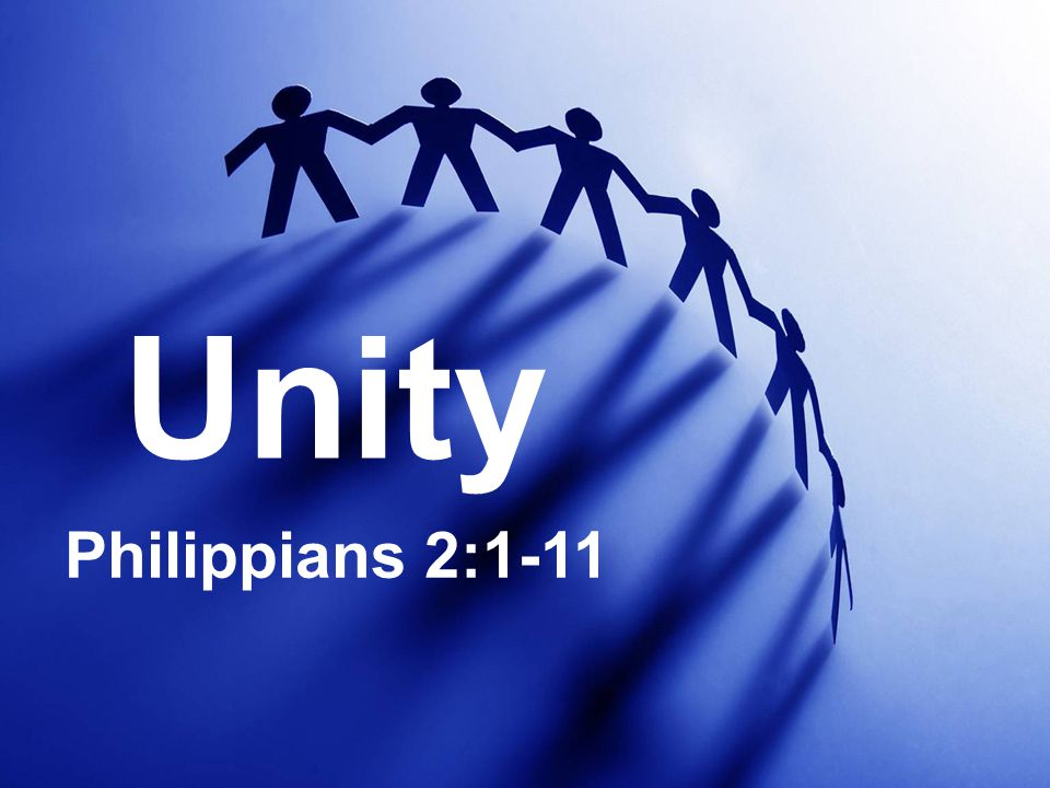 Unity Philippians 2:1-11
